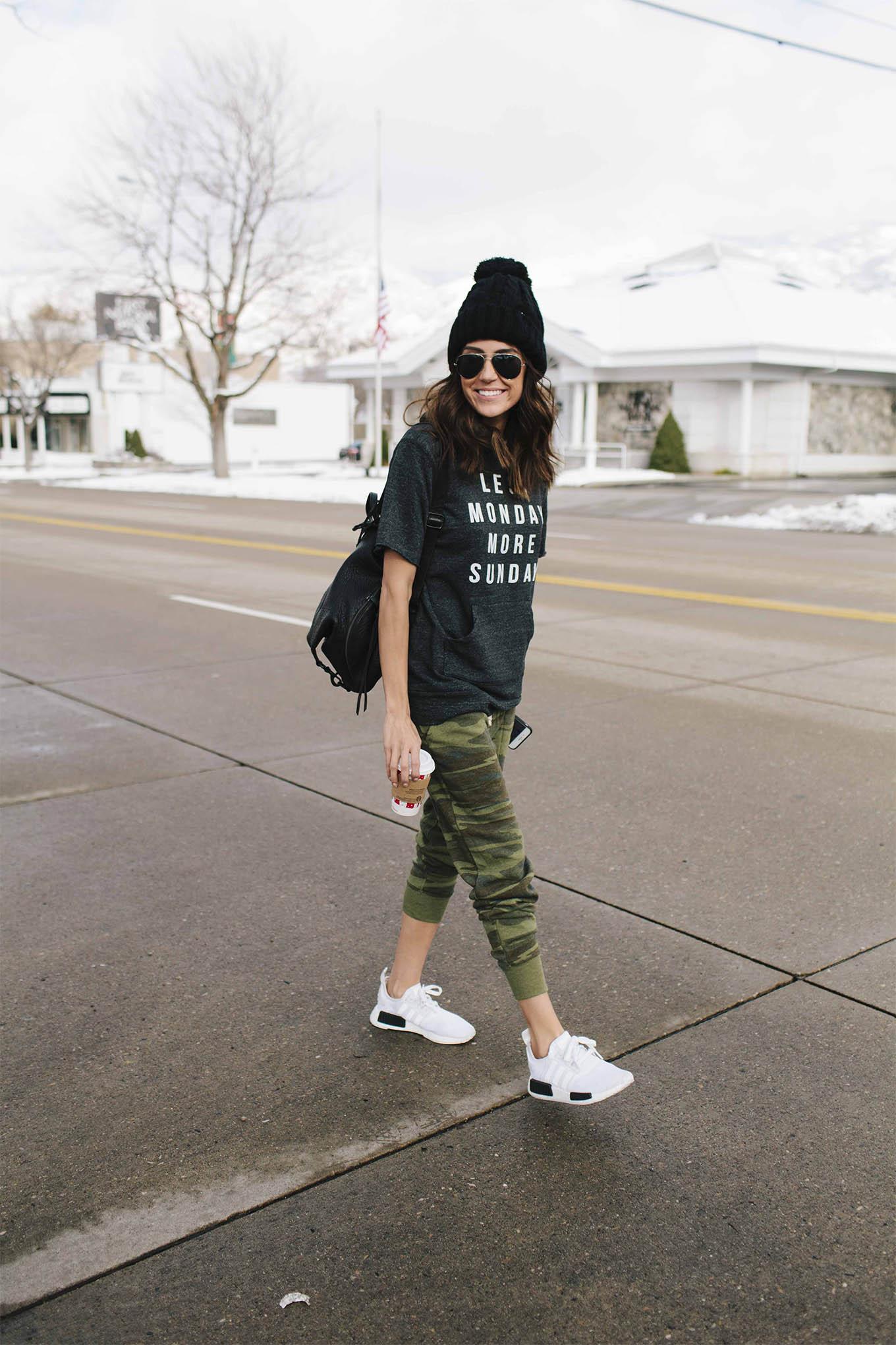 casual street style hello fashion