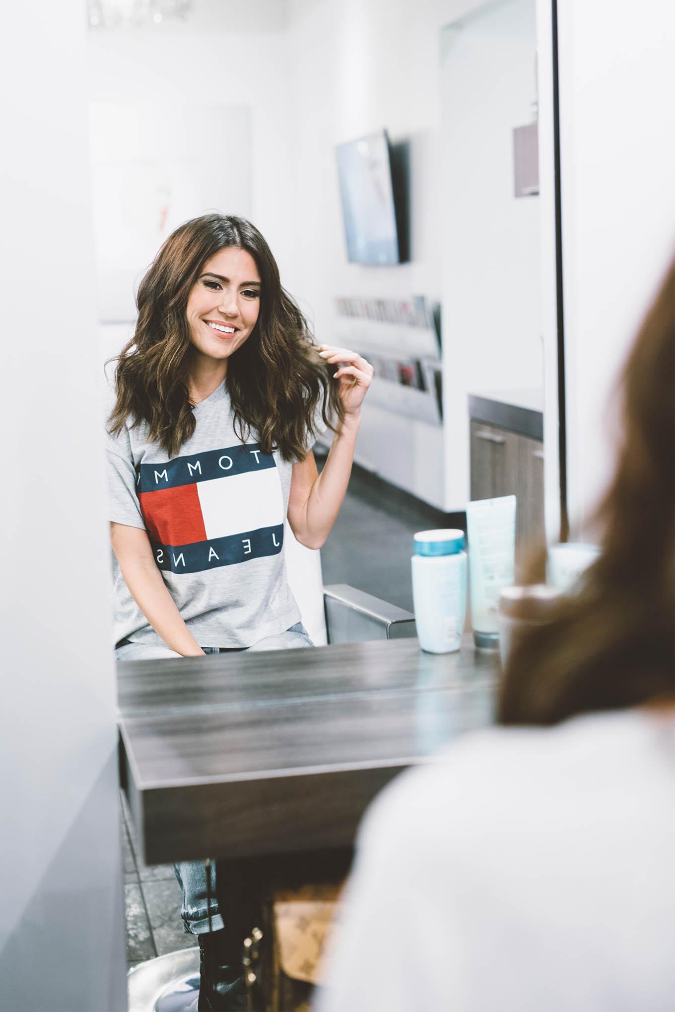 loose curls hello fashion blog