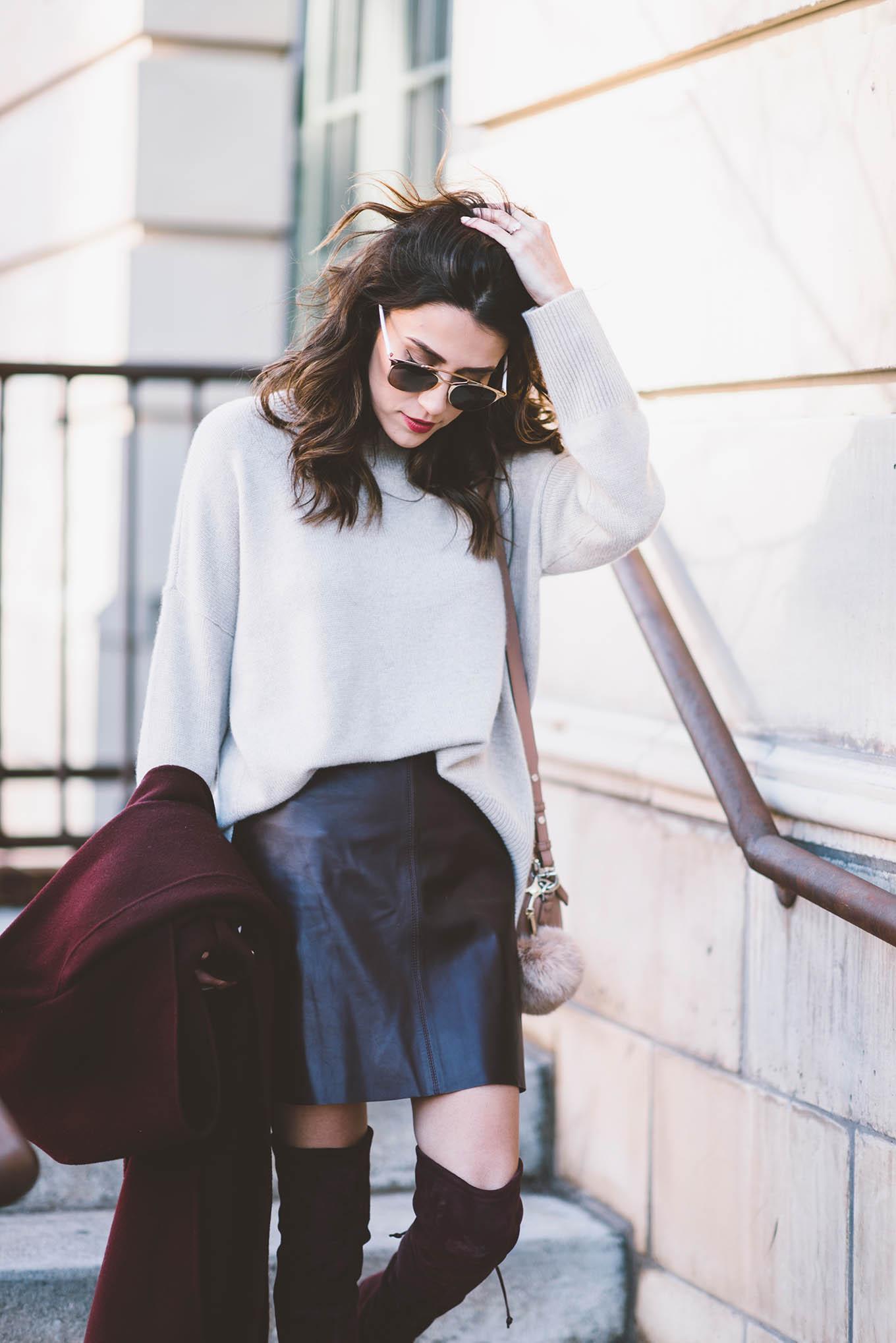 dressy winter style