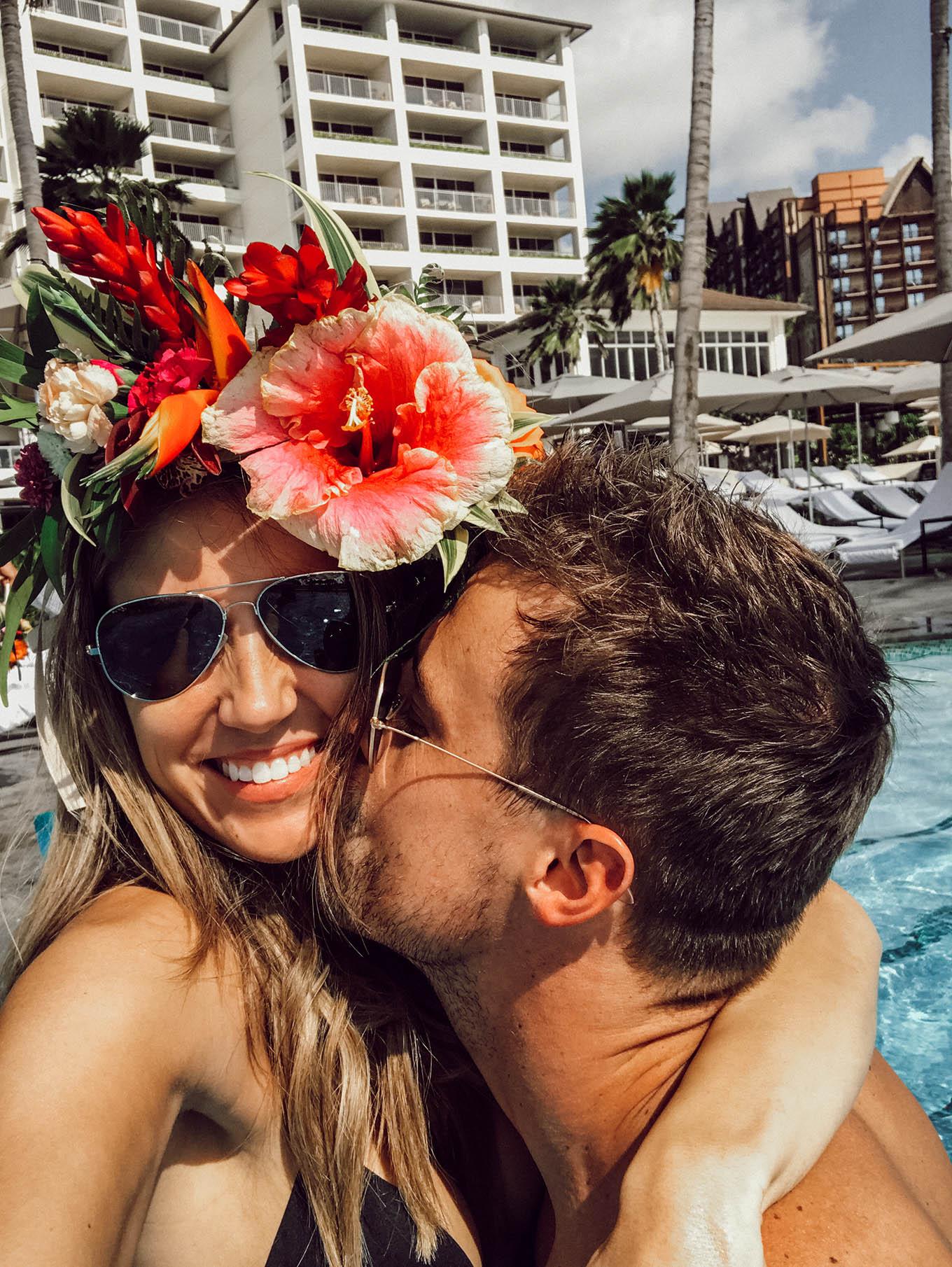 christine and cody andrew hawaii