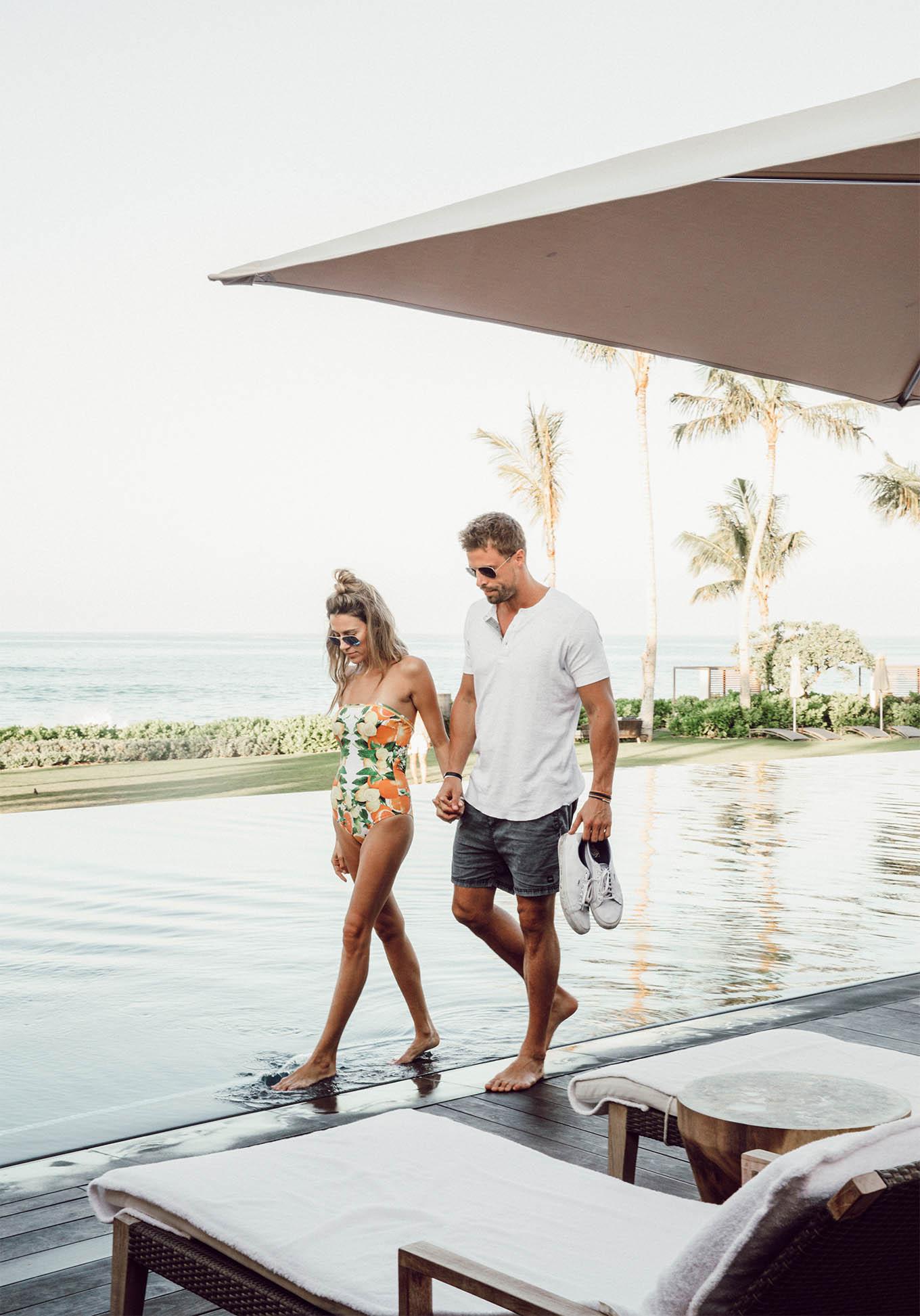 couple's beach style