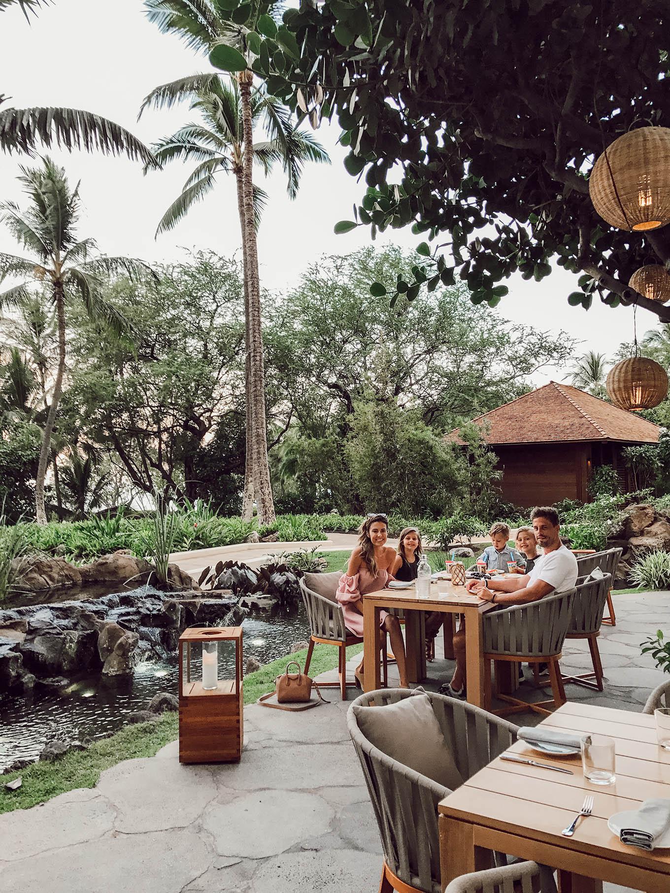 Four Seasons Oahu restaurants