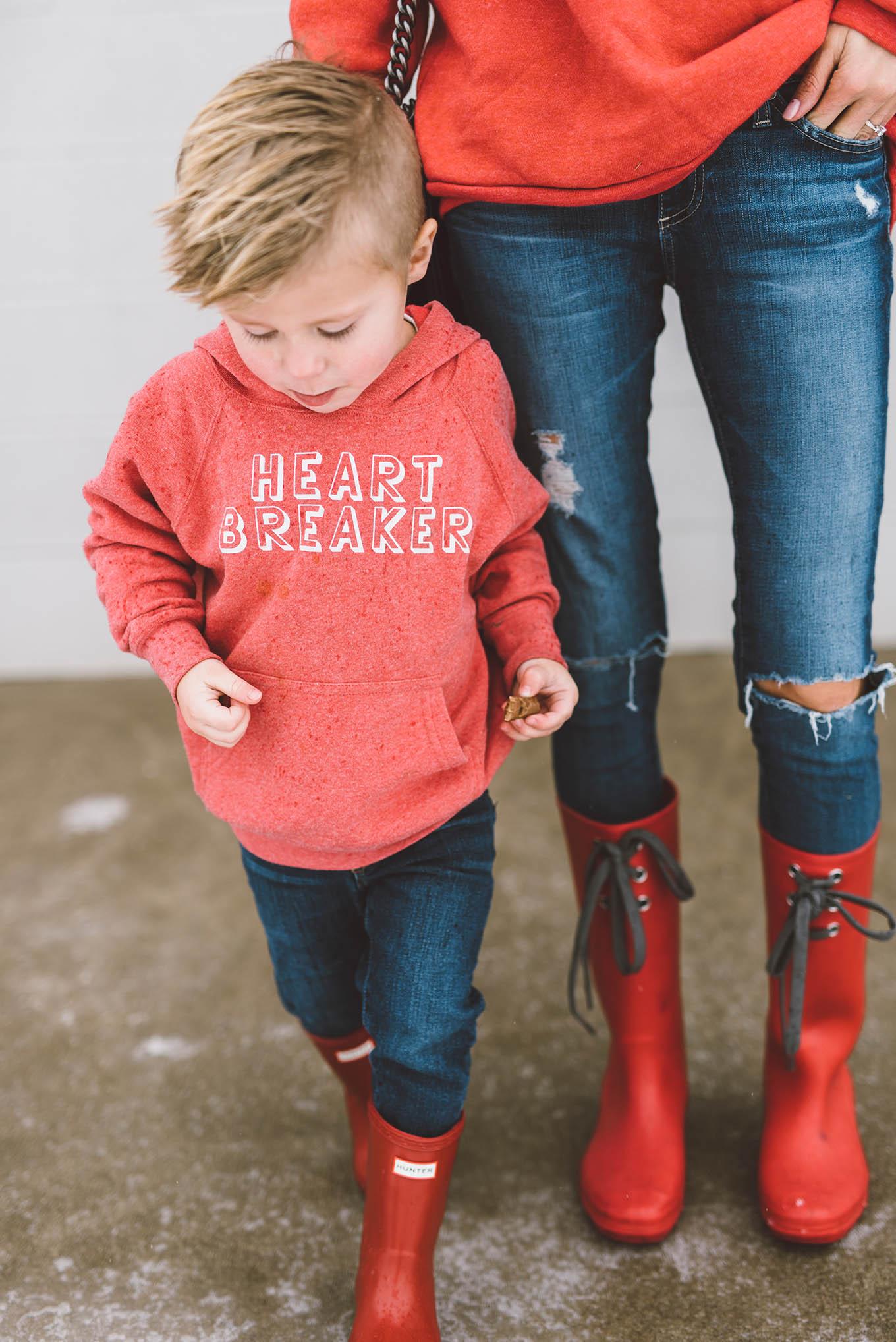 kid's heartbreaker sweatshirt