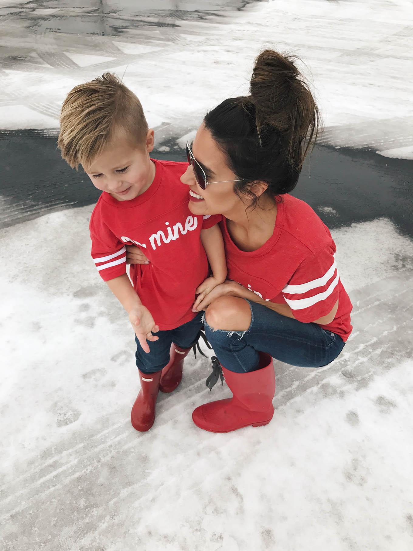 kid's valentine's apparel