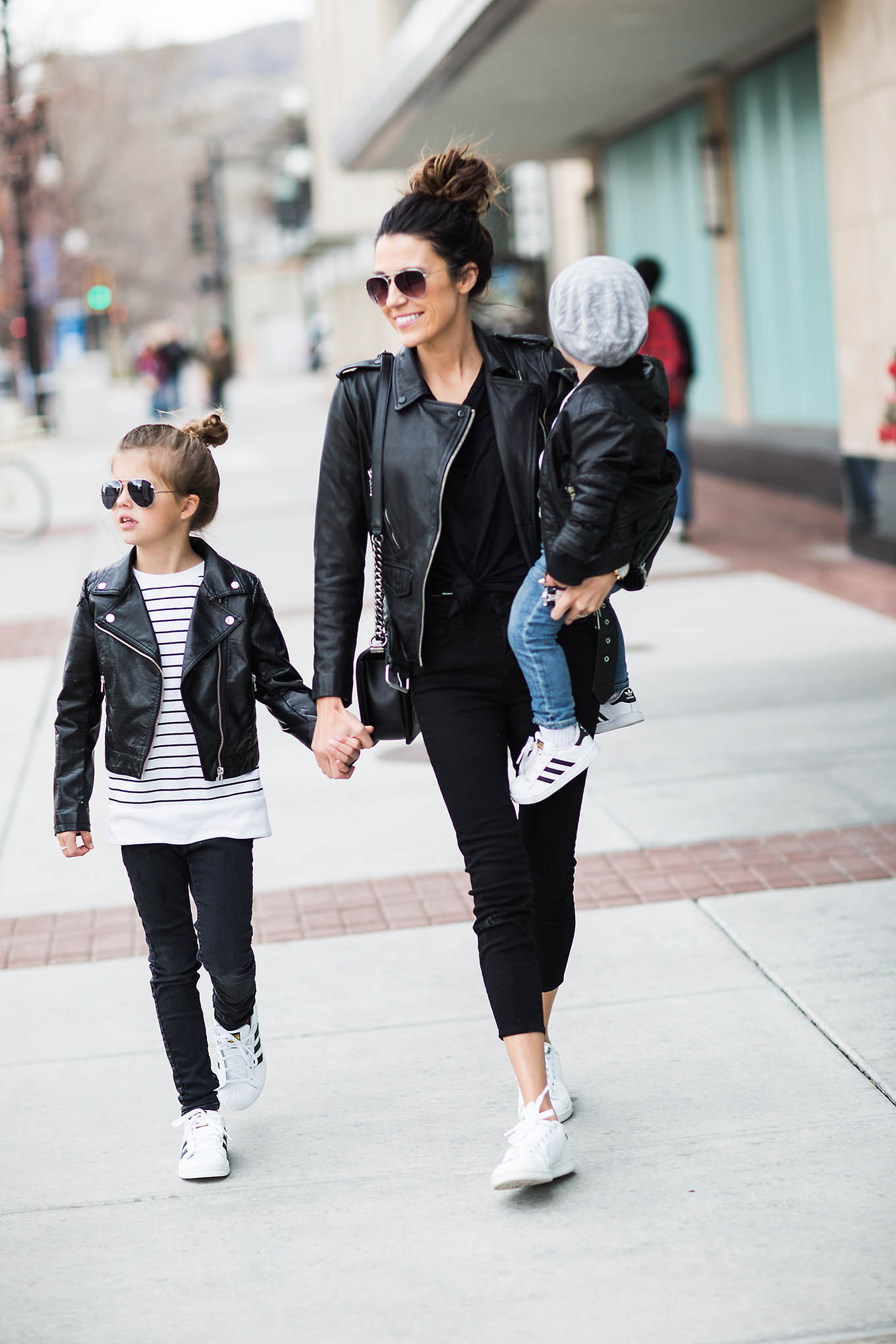 family leather outfits