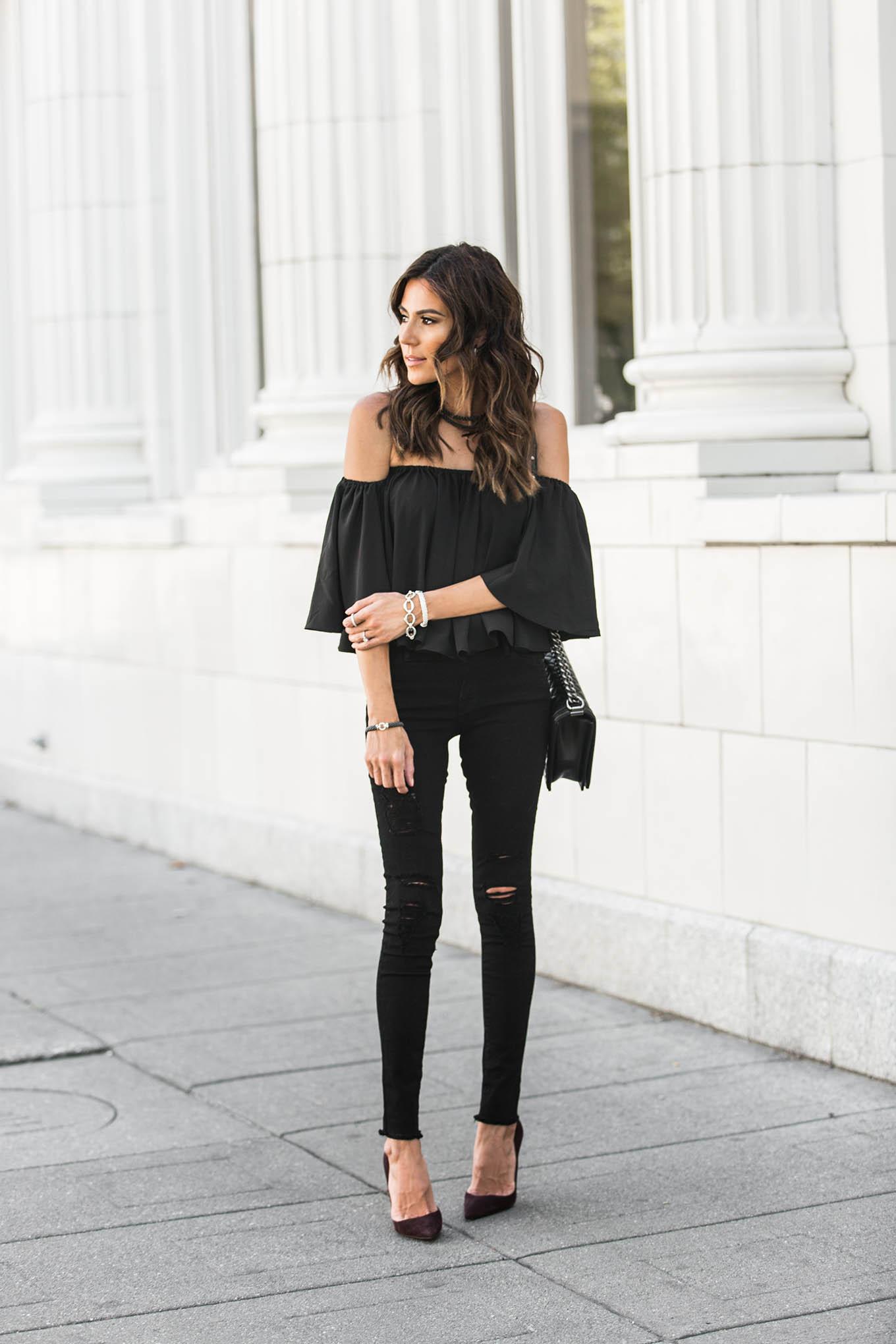 monochromatic black