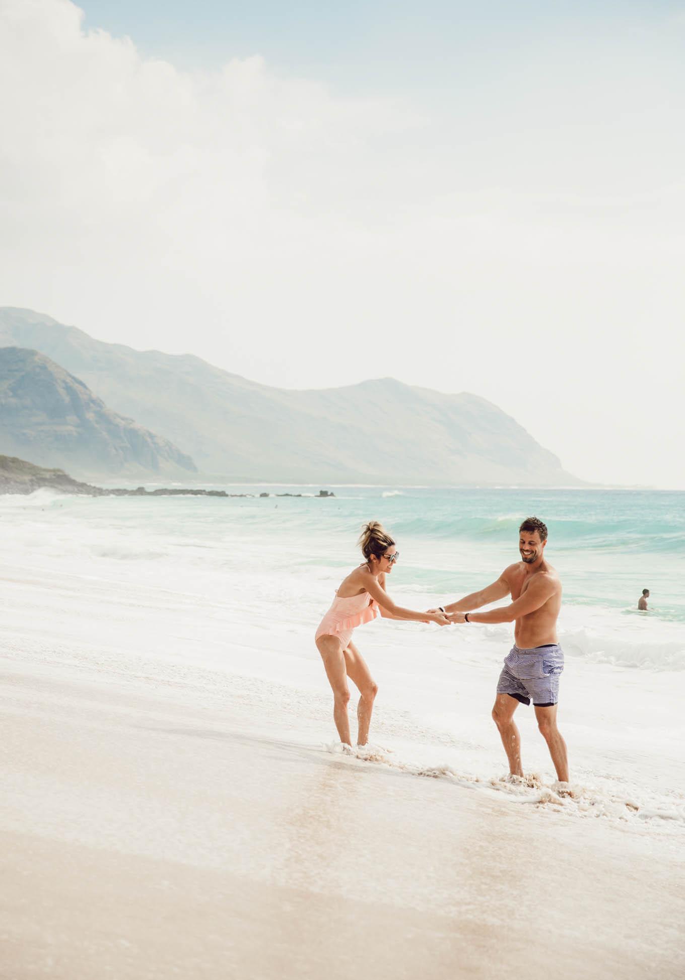 romantic beach getaway