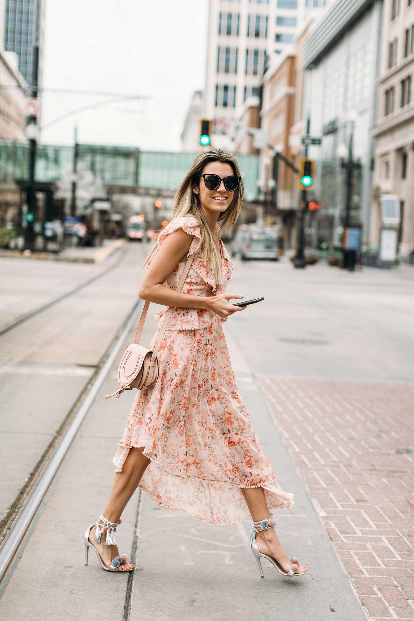 embellished pink dress