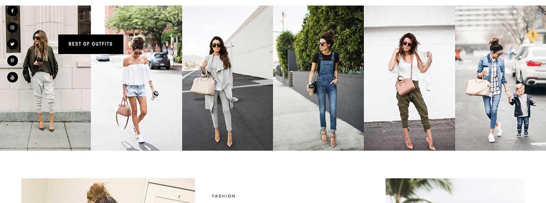 hello fashion blog design