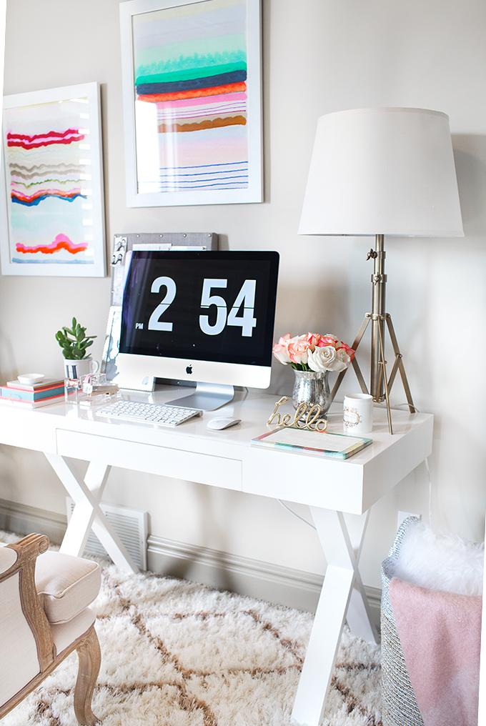 hello fashion blog office