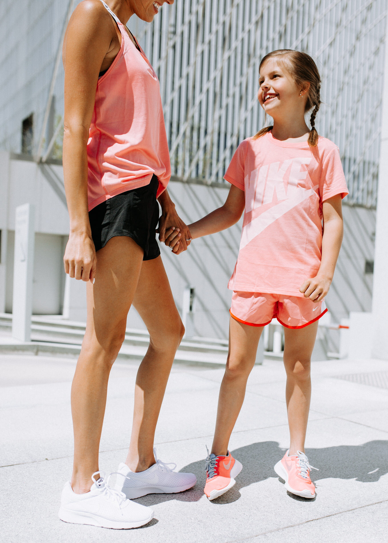 mom and daughter activewear
