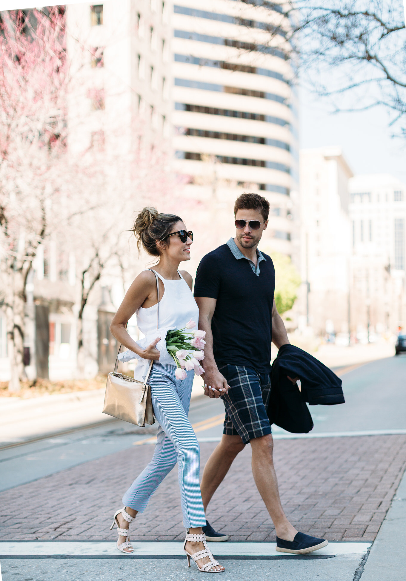 spring couple's style