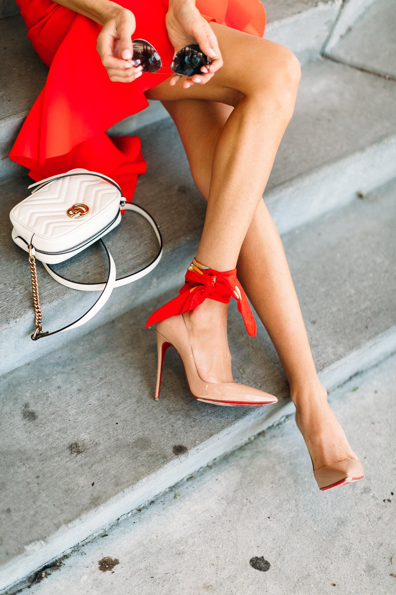 ankle bandana hello fashion blog
