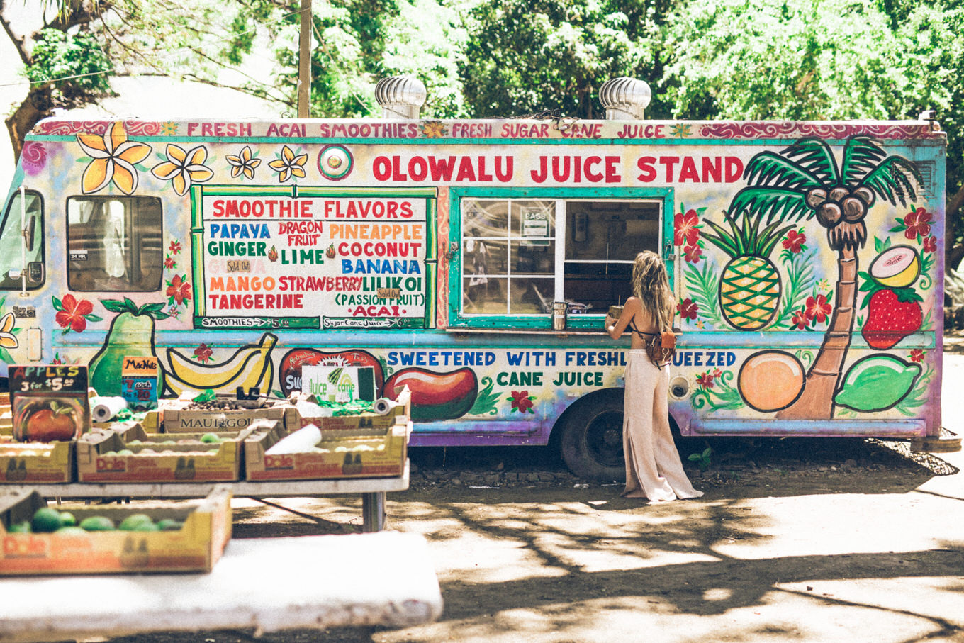 hawaii fruit trucks