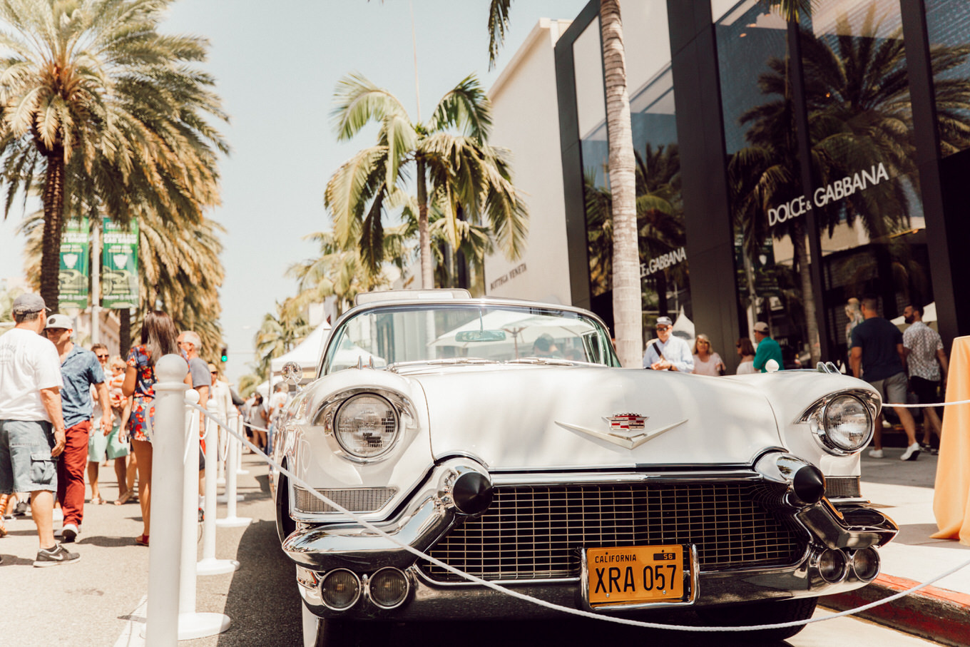 rodeo drive car show