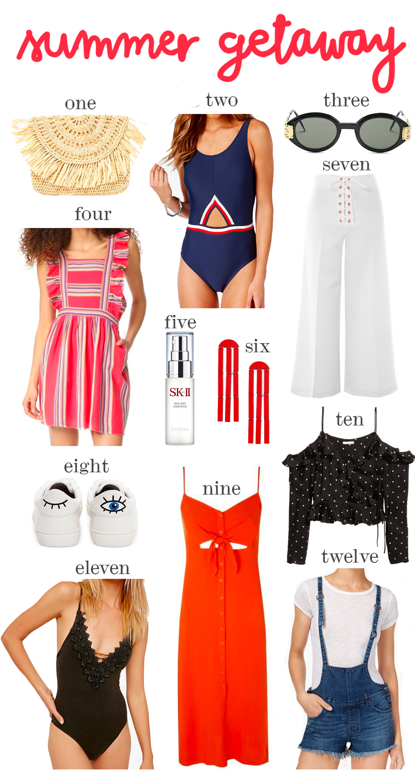 summer getaway essentials