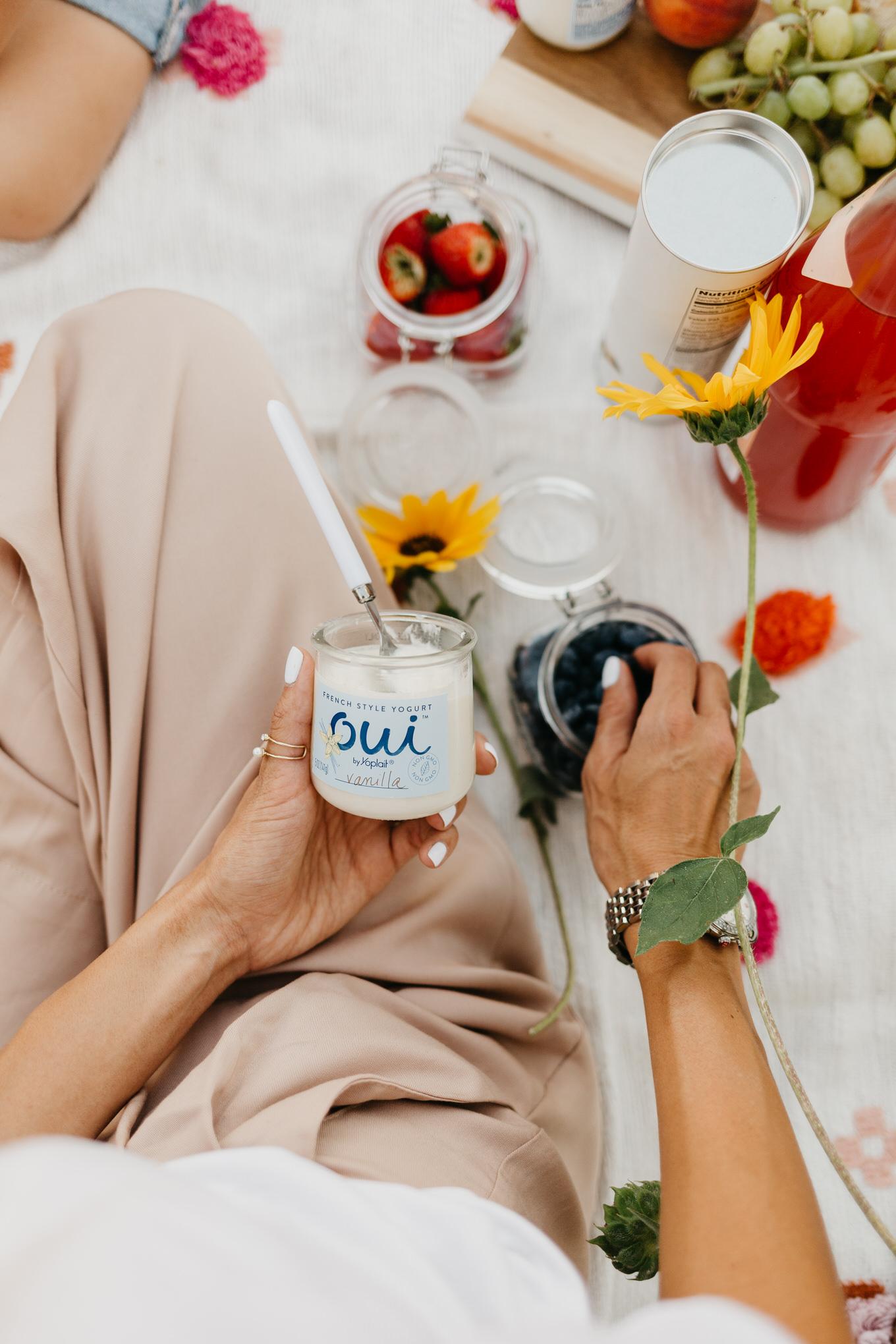 Oui Yogurt Hello Fashion Blog