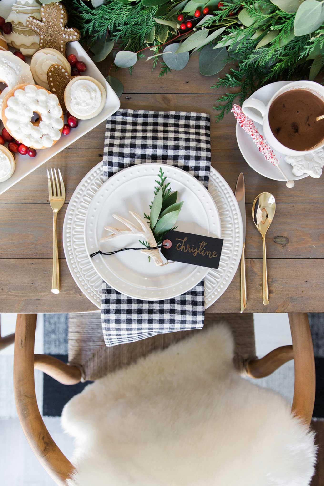 blogger christmas decor