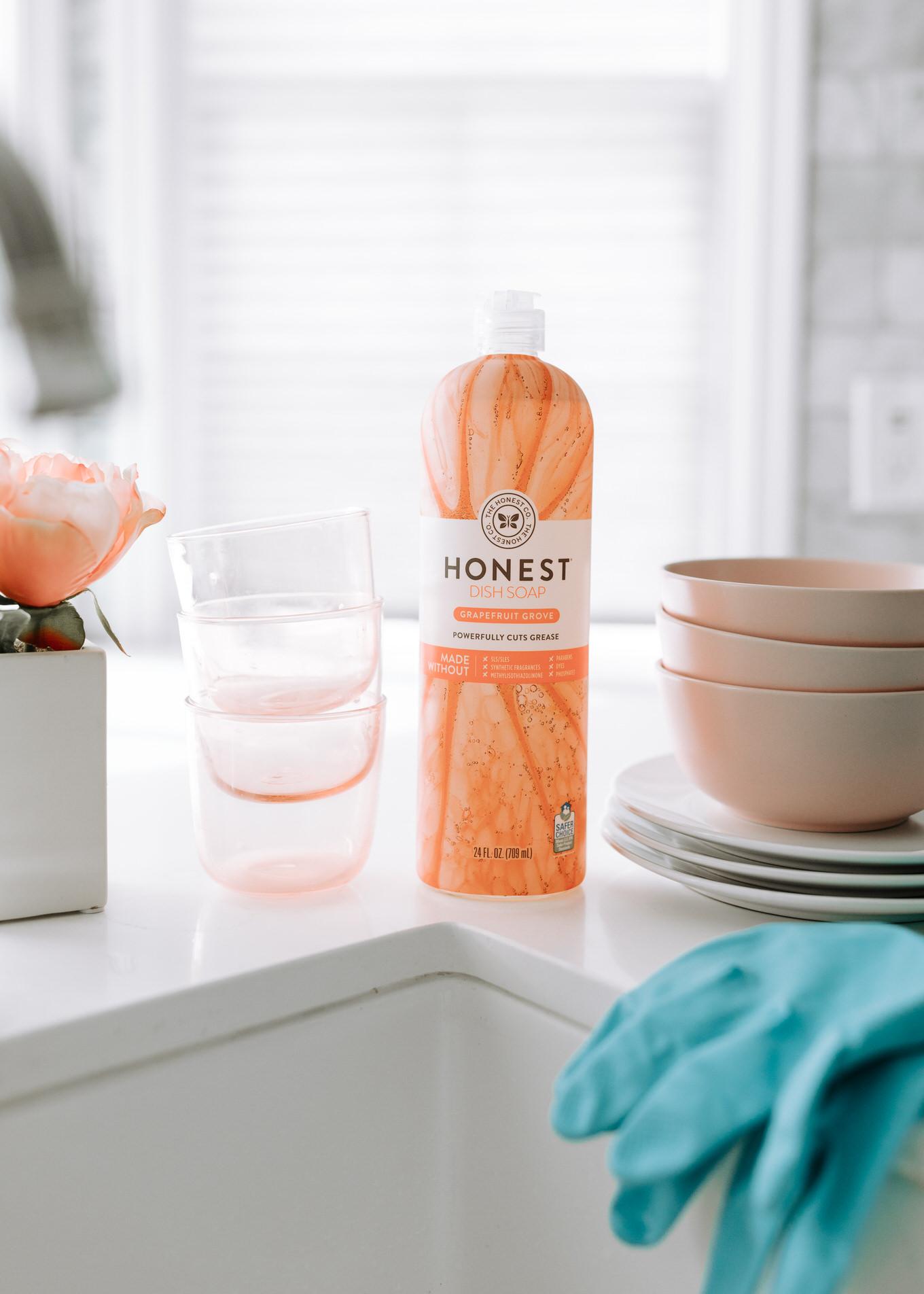 honest dish soap