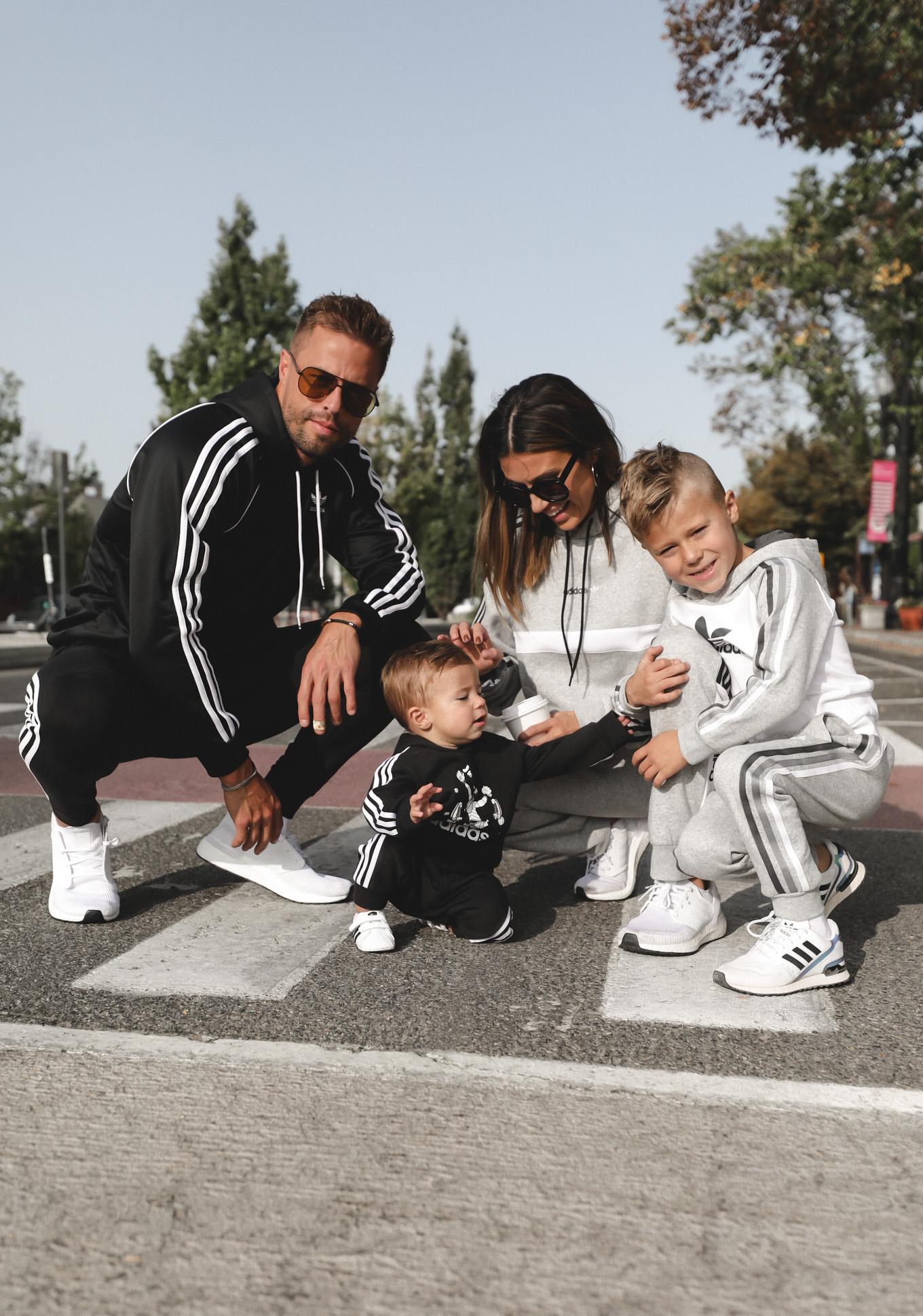 andrew family in adidas