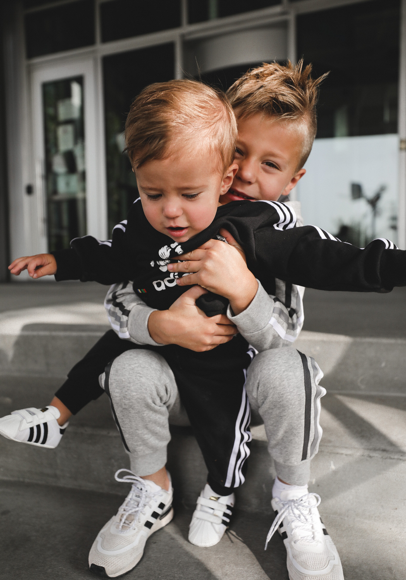 kids in adidas
