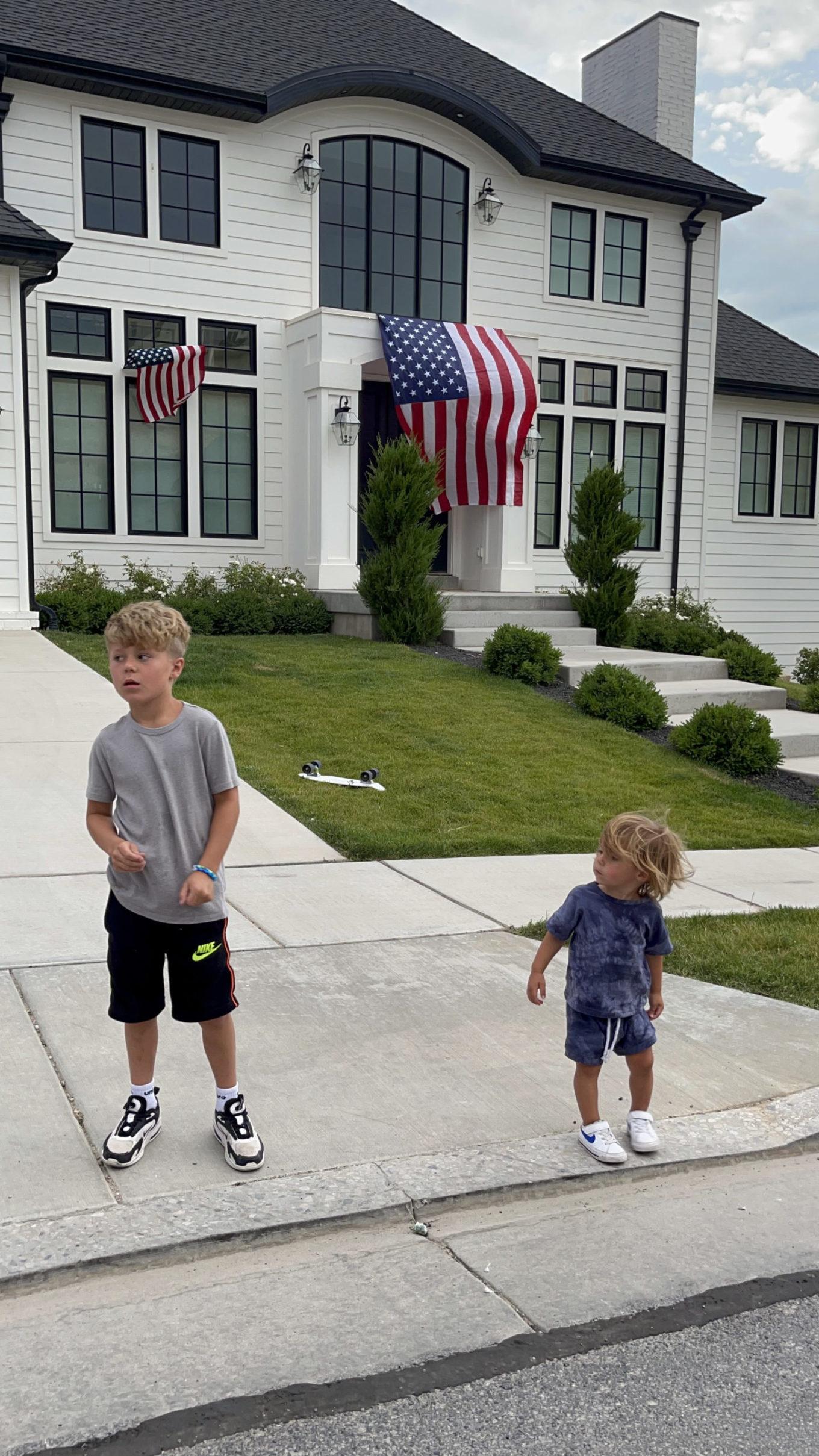 July best-seller, tie dye toddler set