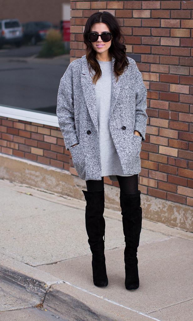 buying cheap cozy fresh pretty nice Black & Grey   Hello Fashion