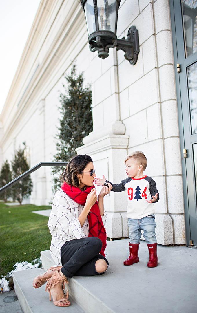 Mom and Son Hello Fashion Blog