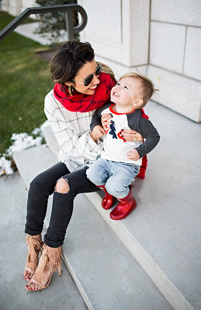 Mom and Son Outfits Christine Andrew