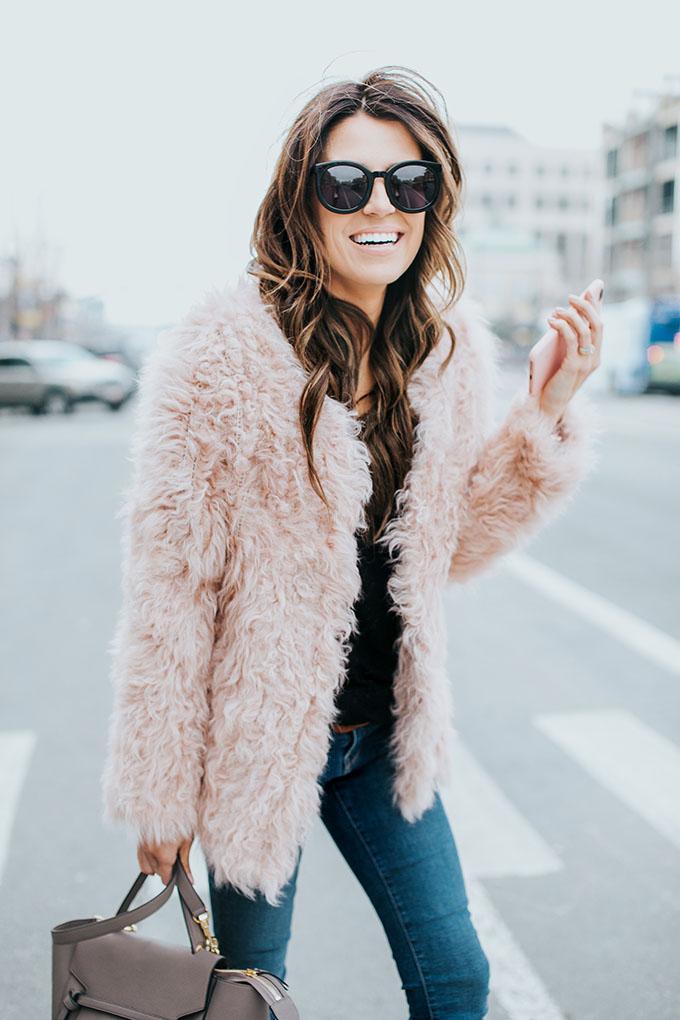 Cute Pink Coat Hello Fashion Blog