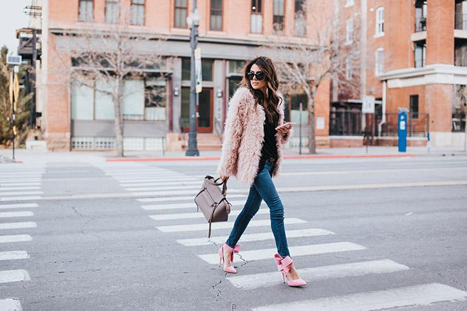 Pink Bow Heels Hello Fashion Blog