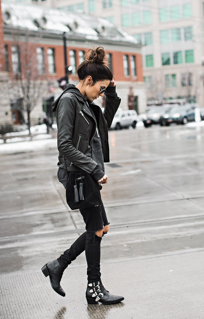 All Black Outfit Christine Andrew