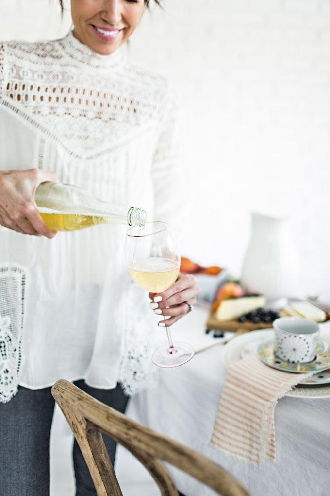 White Crochet Tunic Hello Fashion Blog