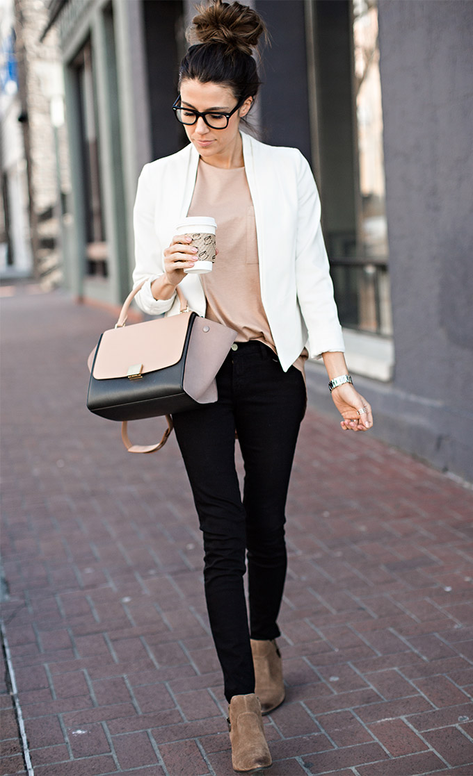 Neutral Outfit Christine Andrew Hello Fashion Blog