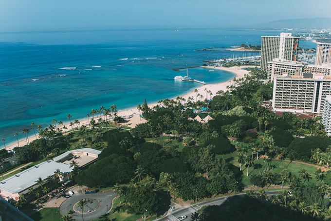Waikiki Beach Hello Fashion