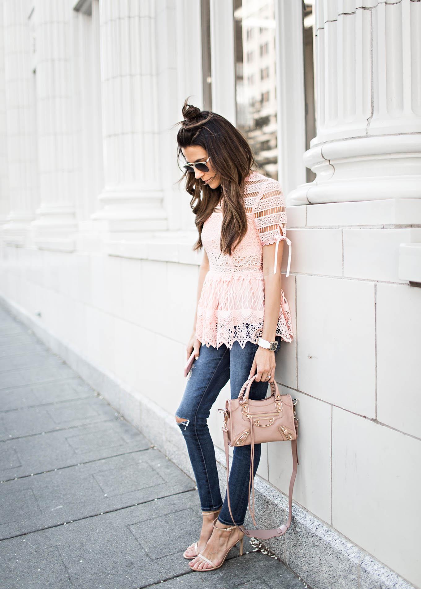 blush tones