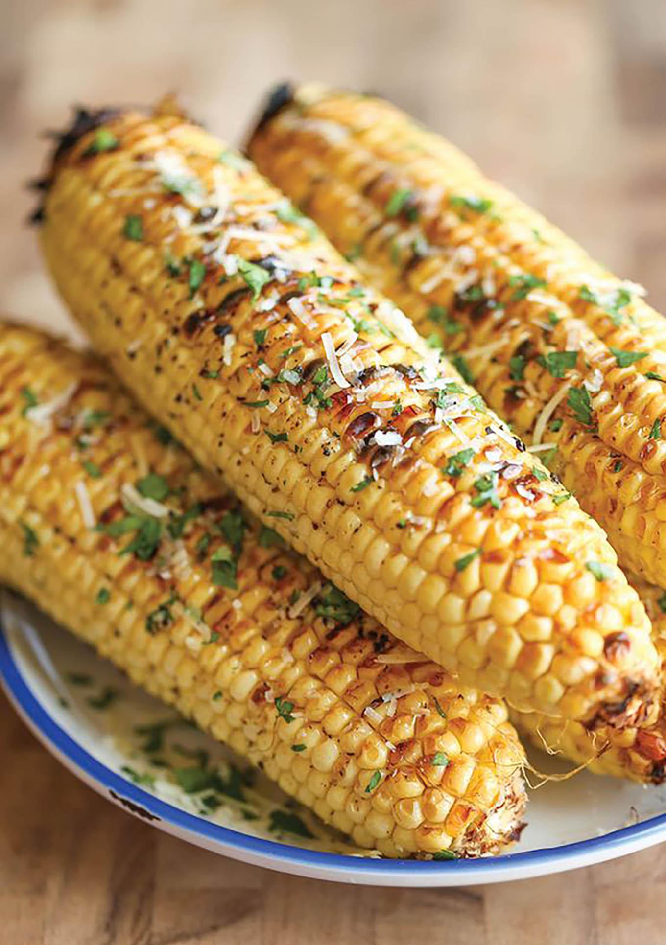 parmesean corn on the cob