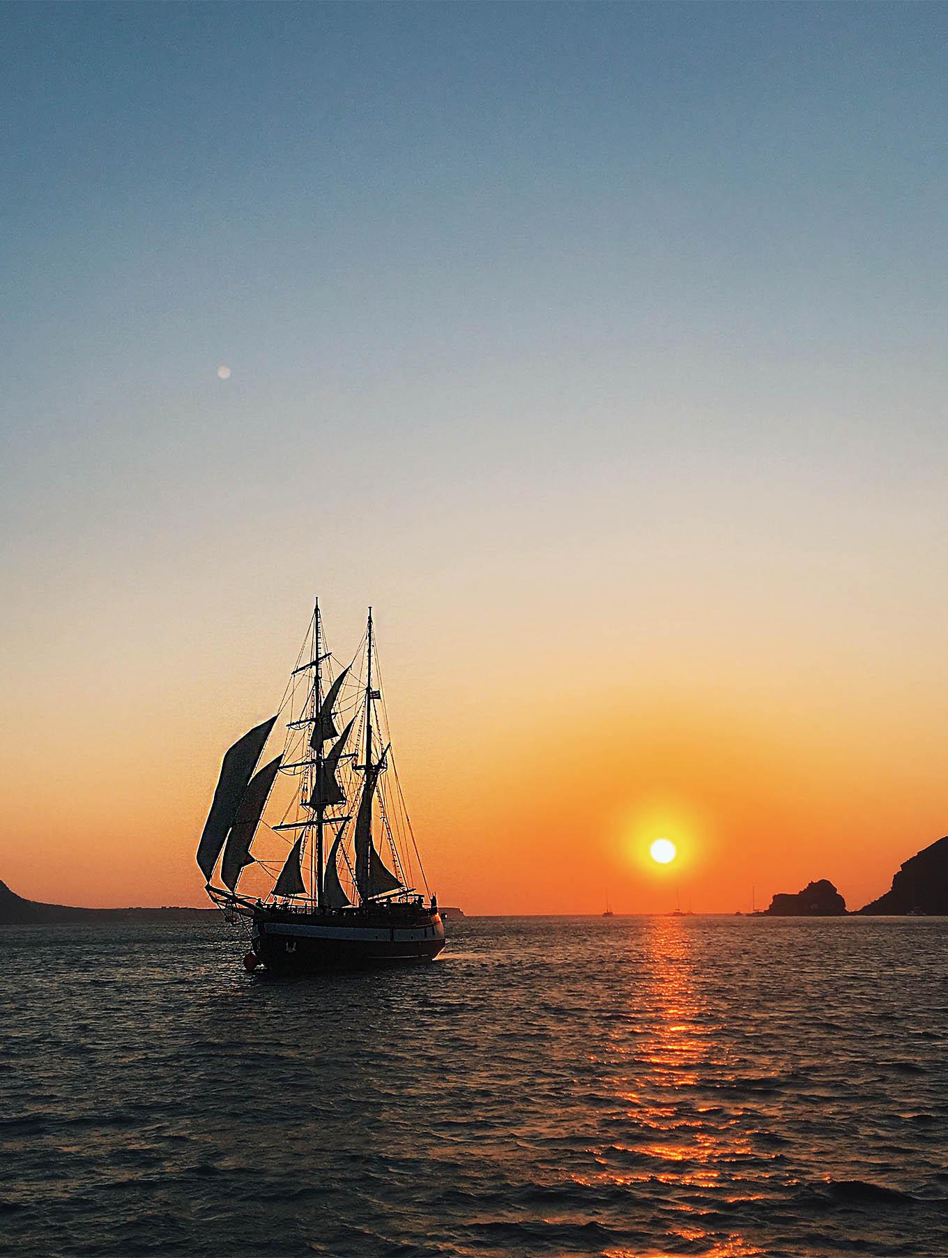 Pirate Ship Santorini Boat Tour