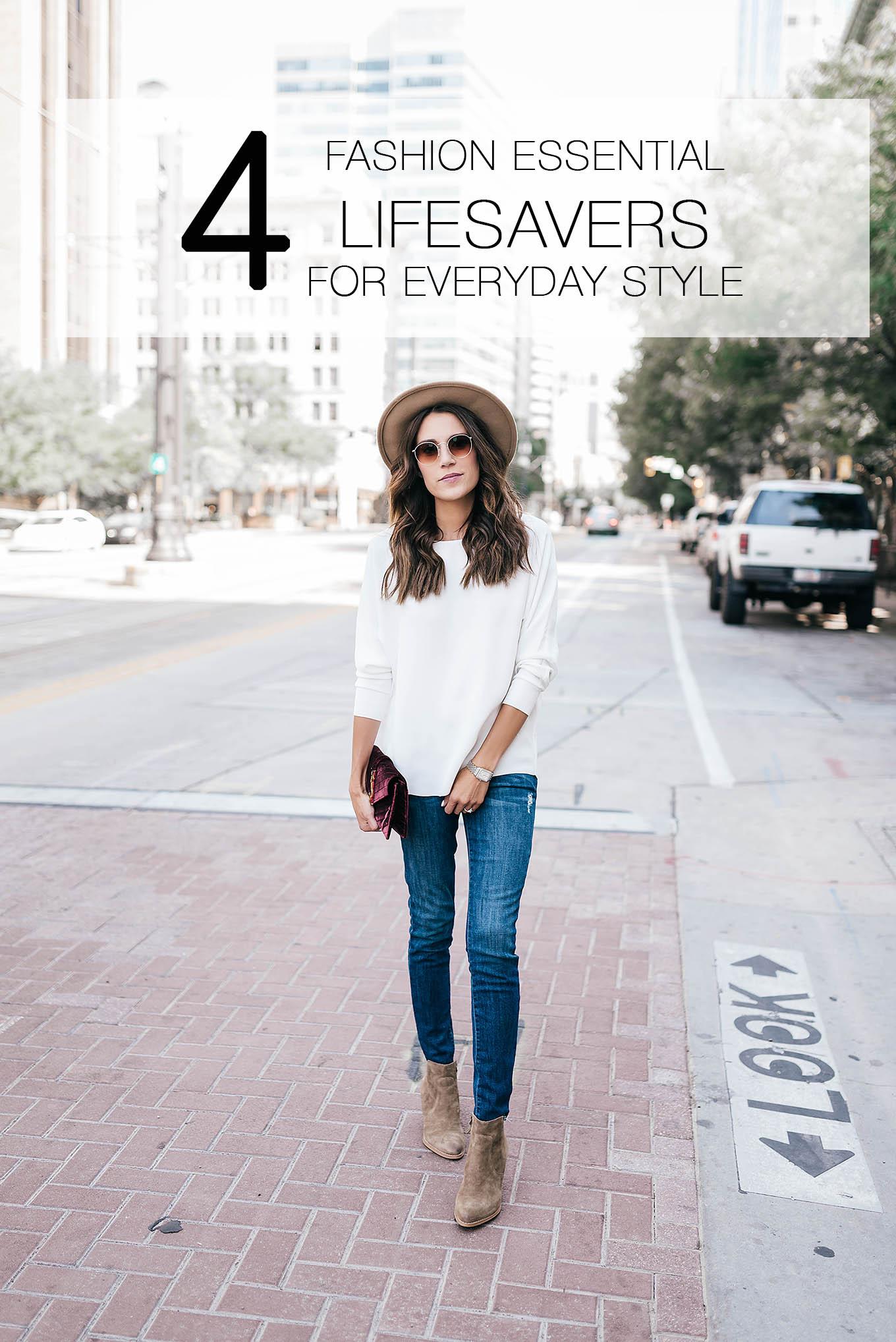 4 fashion lifesavers for everyday style