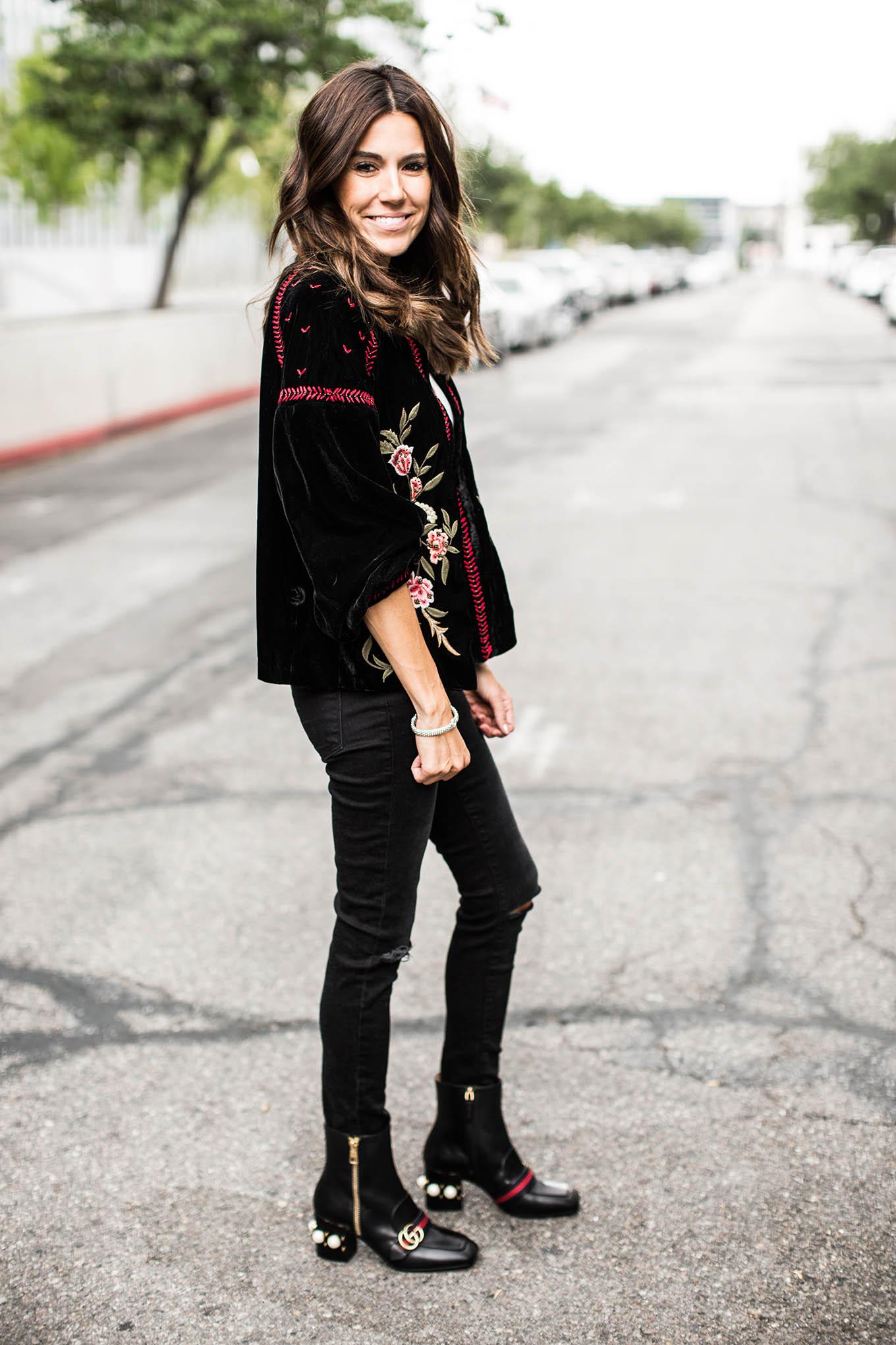 embroidered jacket hello fashion blog