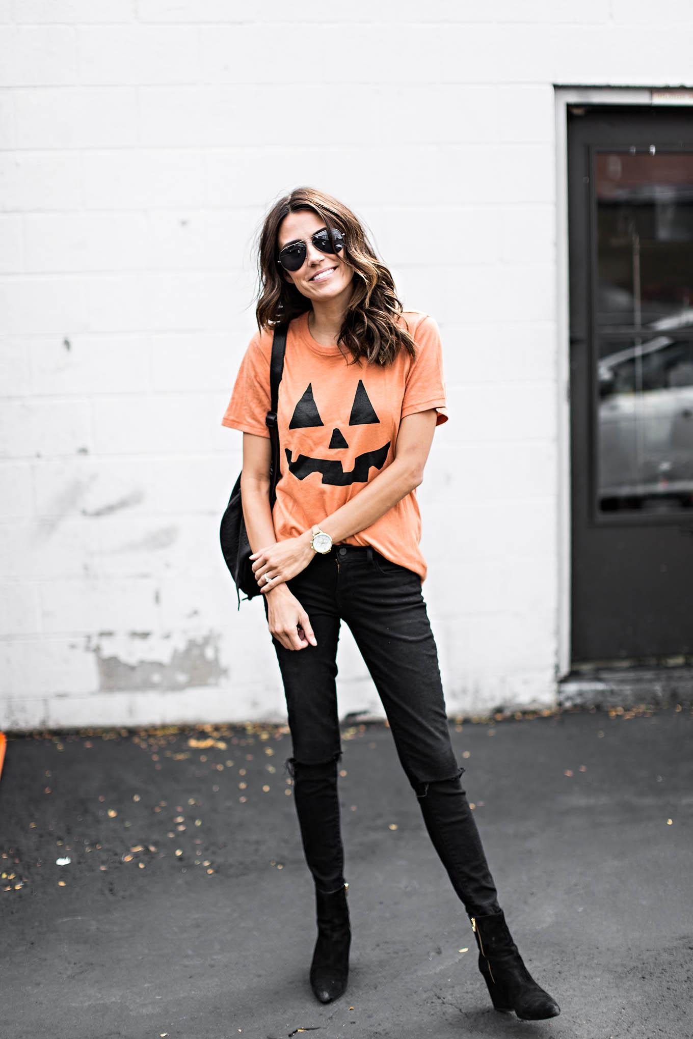 fall pumpkin tee