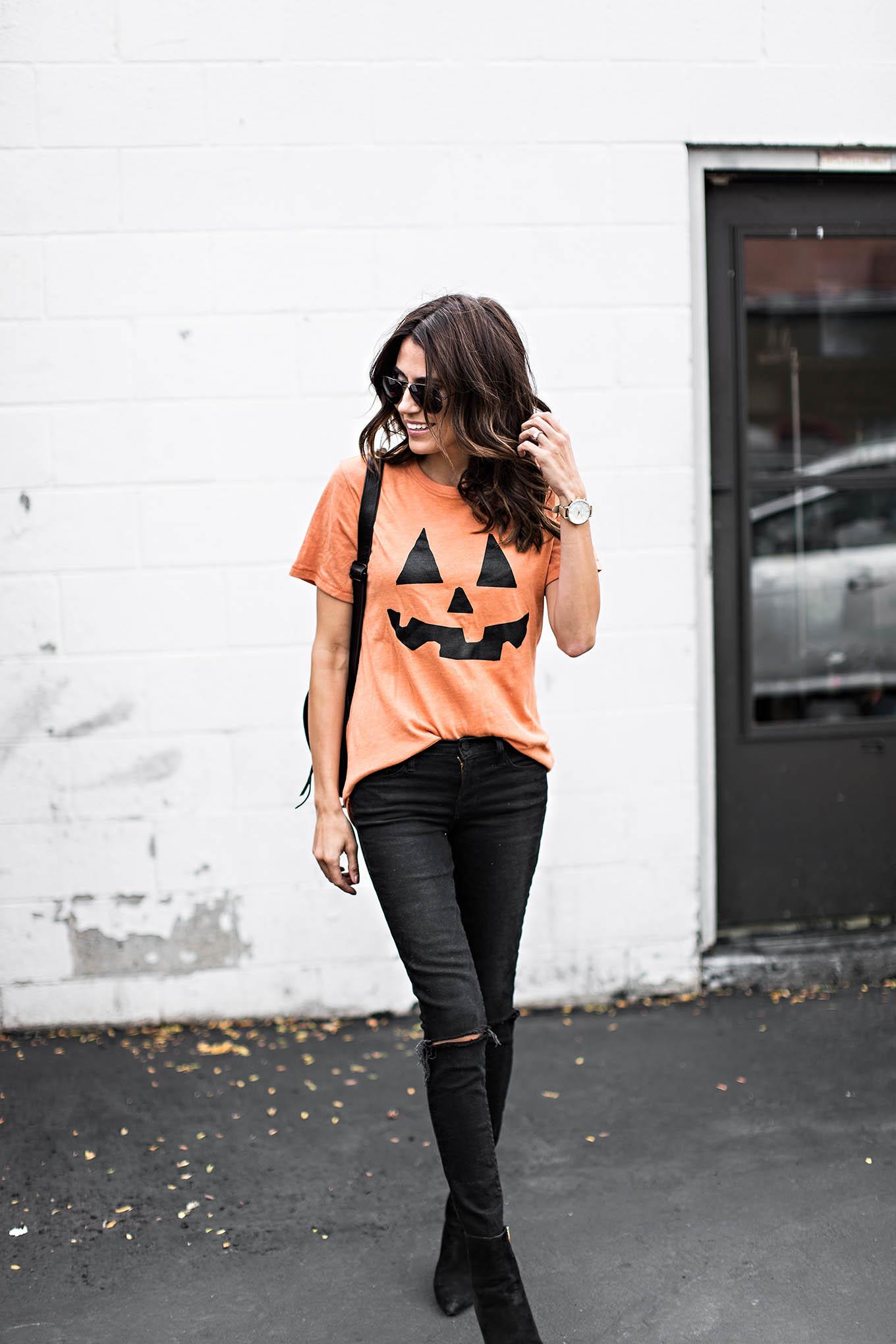 Pumpkin tee