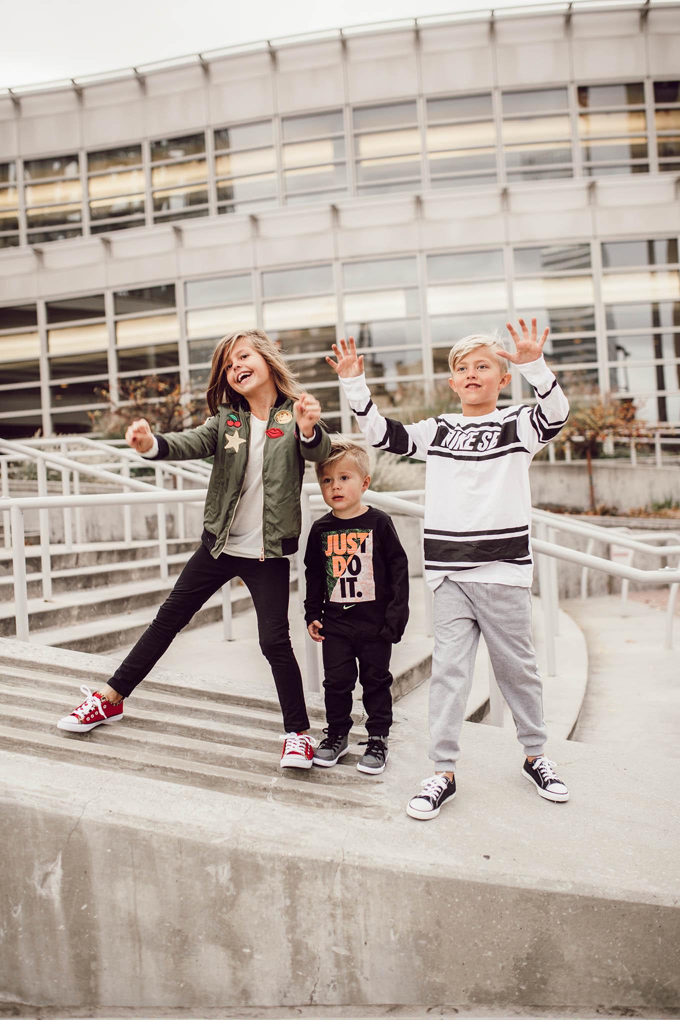 kids nike style