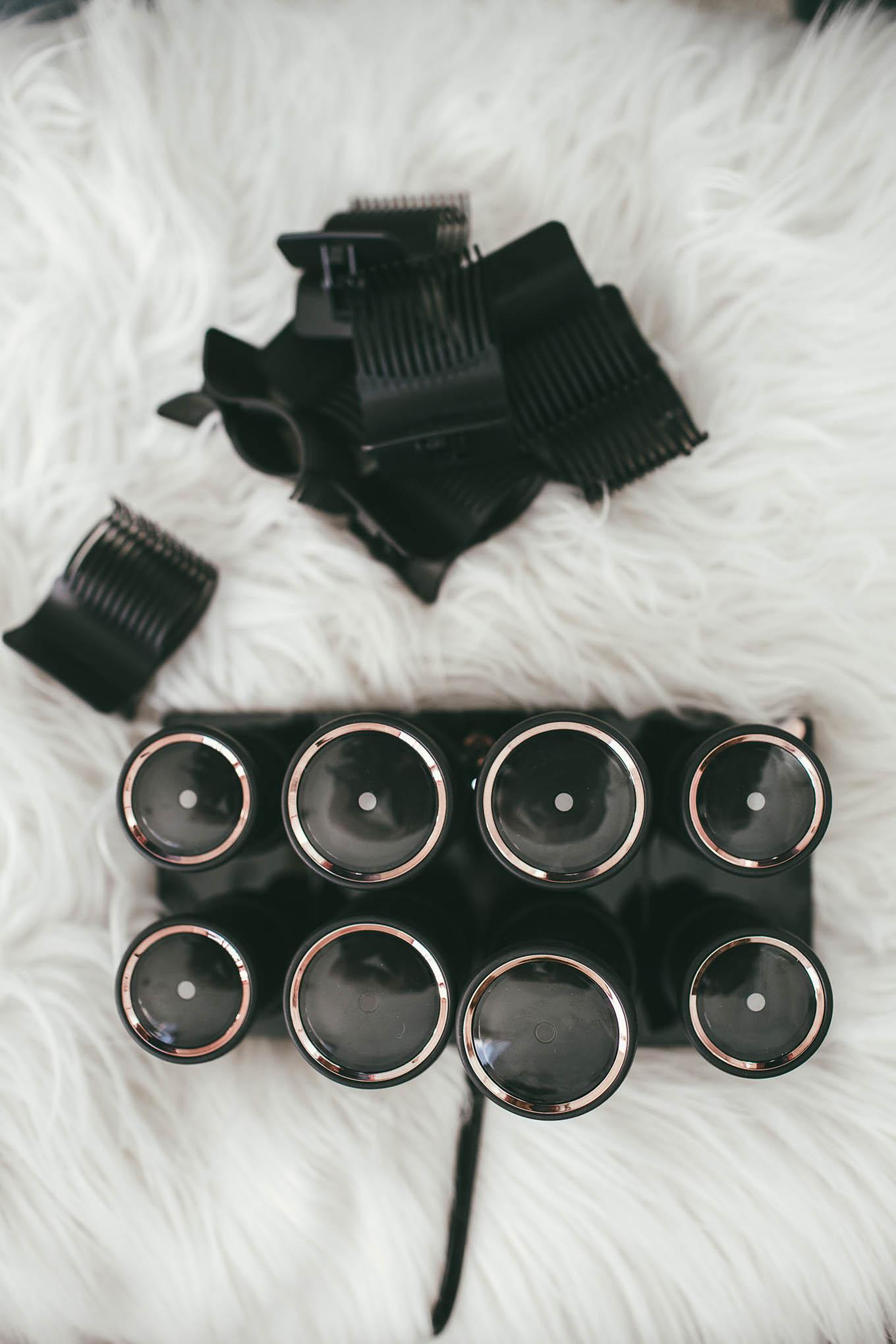 t3 voluminous heat rollers luxe