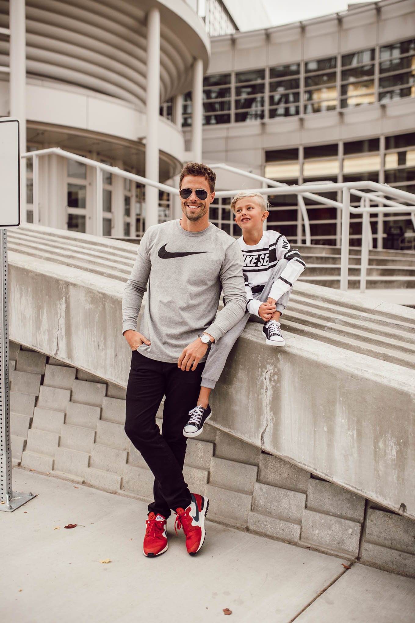 father and son style