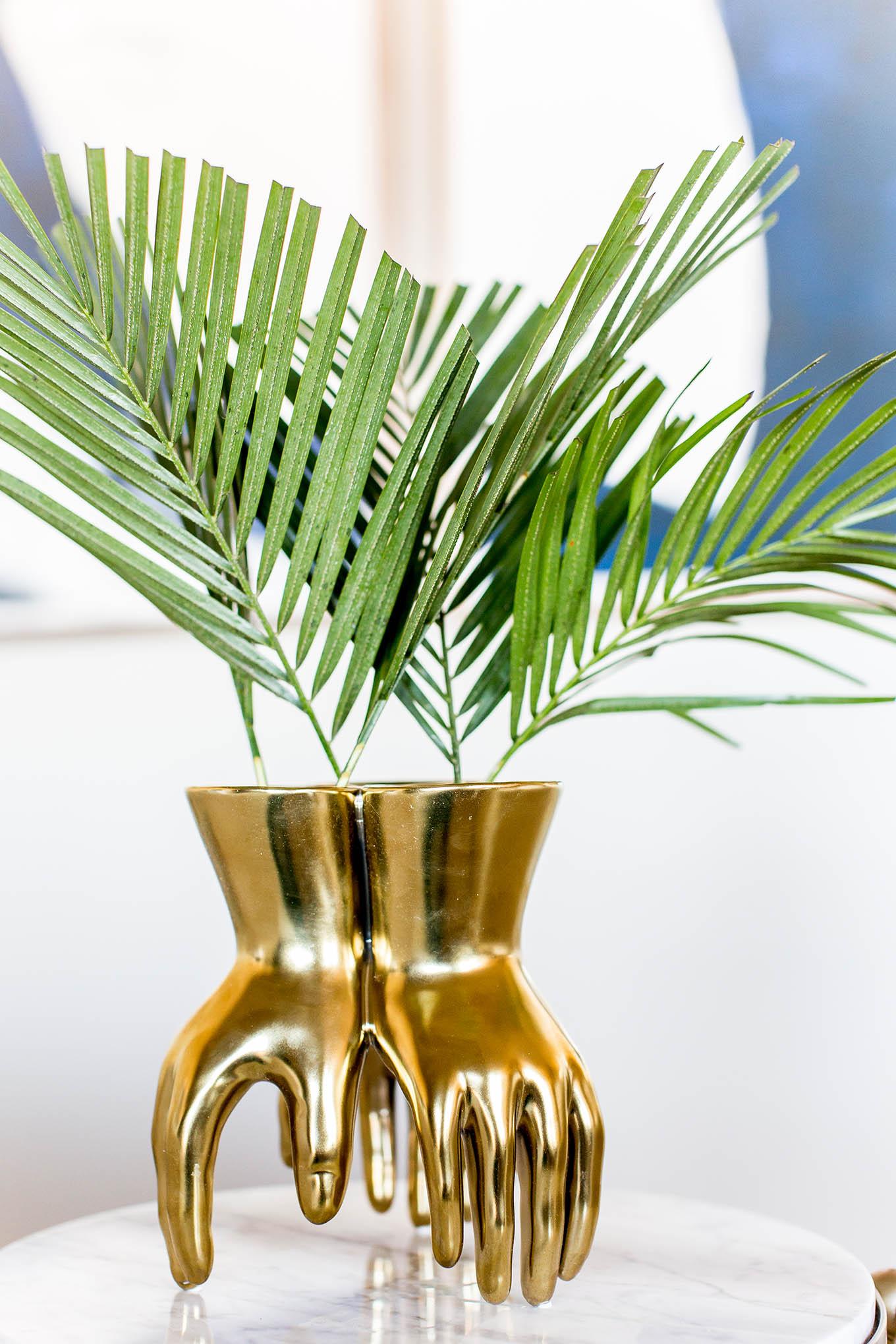 Gold Vase Hello Fashion Blog