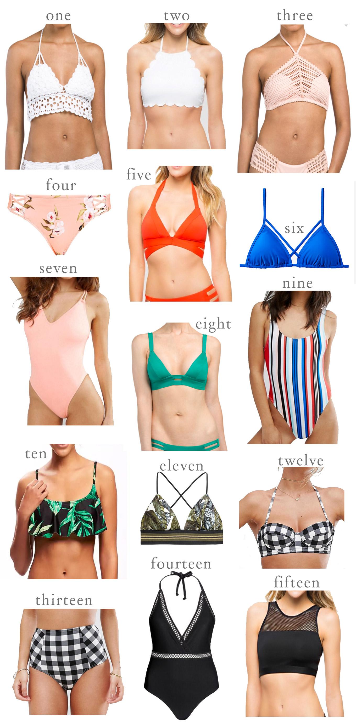 571878c7f0 The Prettiest Swimwear Pieces Under  30