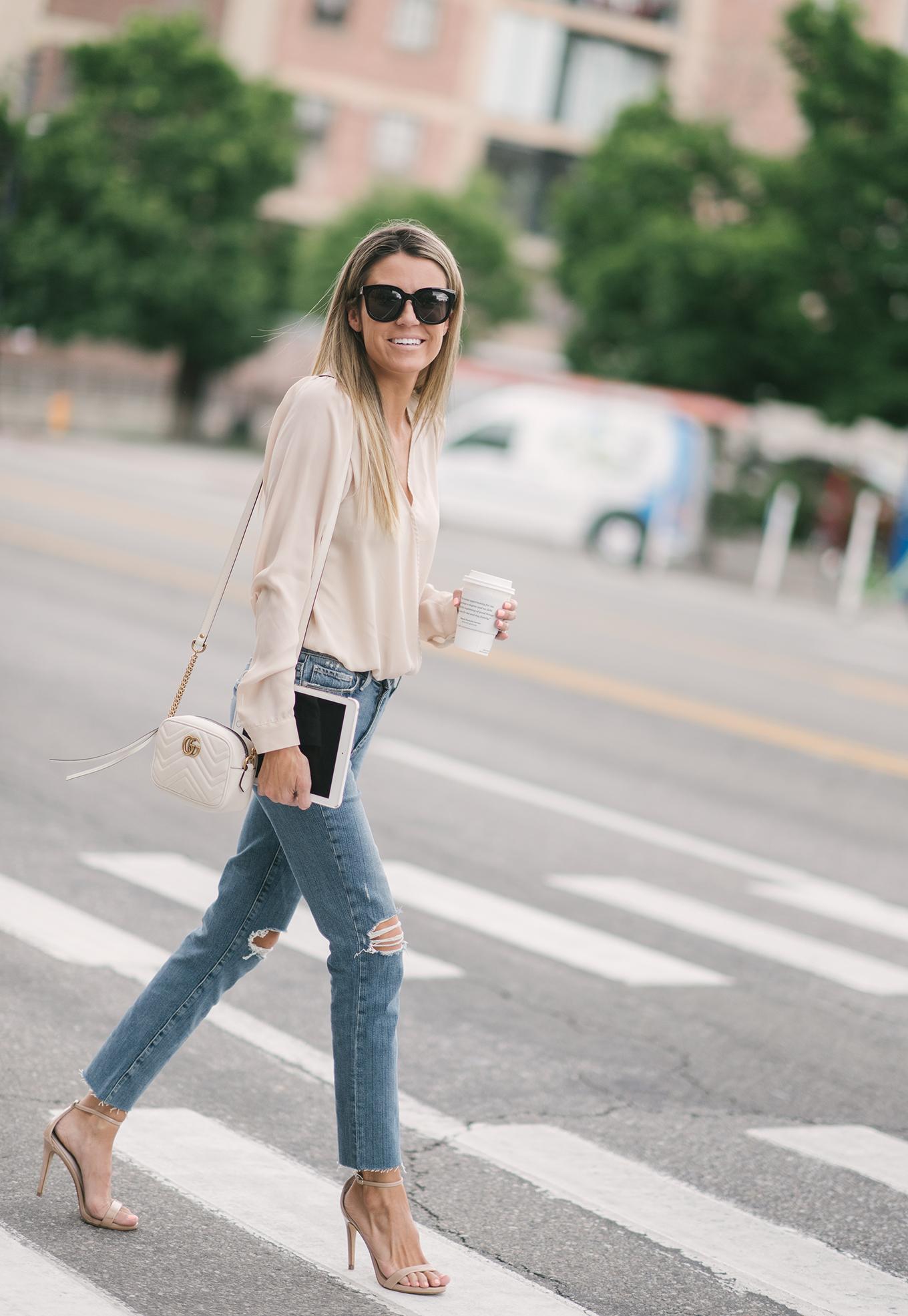 neutral outfit hello fashion blog