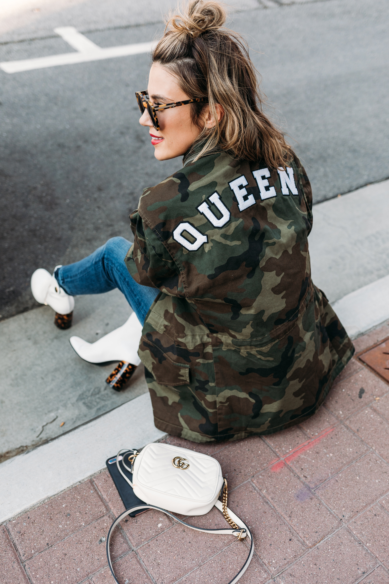 queen camo jacket Hello Fashion Blog