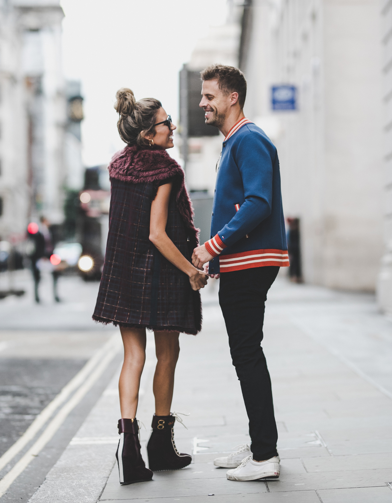 fall couple's style